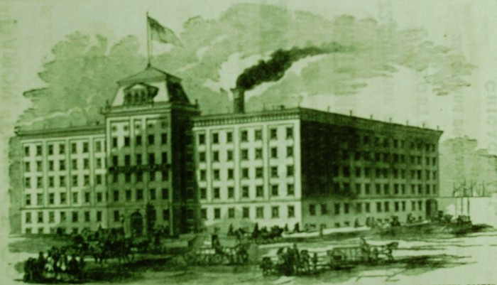 James & Holmstrom Factory