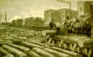 Log Delivery to Steinway